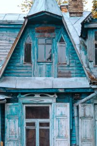 House in need of repairs